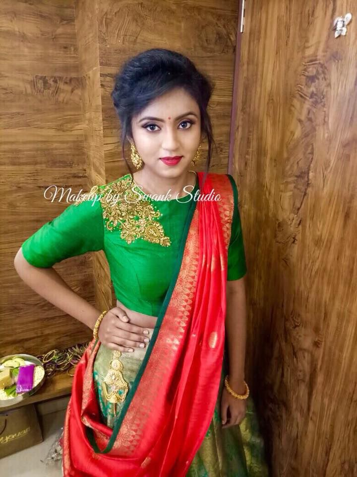 Our Would Be Bride Apoorva Looks Like A Doll For Her Engagement