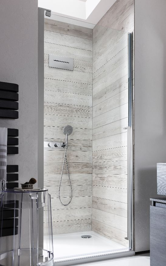 Perfect for the most contemporary bathrooms whilst remaining fully functional - Pier Hinged Shower Door from Simpsons. http://www.crosswater.co.uk/product/showering-shower-enclosures-browse-by-range-pier/pier-hinged-shower-door-pier_hinged_door_with_sp_ip/