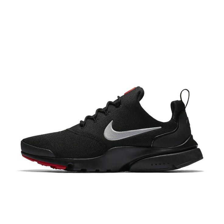nike presto fly mens shoe size 10.5 (black)