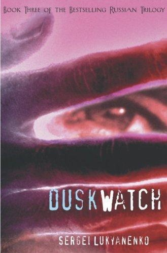 The Twilight Watch by Sergei Lukyanenko, these books really kept my interest in college