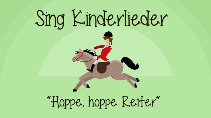 Hoppe, hoppe Reiter - Kinderlieder zum Mitsingen   Sing Kinderlieder