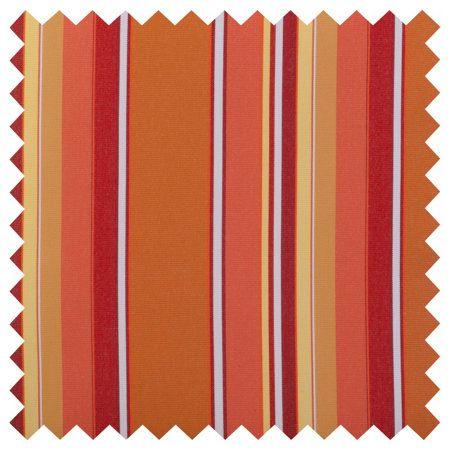 Sunbrella® Outdoor Cushions-Dolce Mango Stripe
