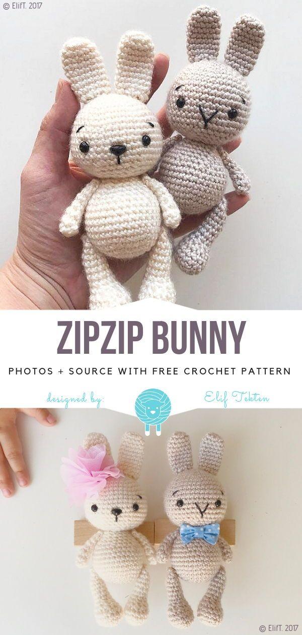 Ragdoll Spring Bunny Free Crochet Pattern • Spin a Yarn Crochet | 1260x600