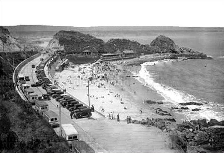 """Playa """"Las Salinas"""", Viña del Mar, Chile."""