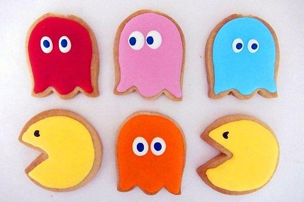 Unas galletas muy originales, que nos recuerda a un clásico juego... De qué juego se trata?
