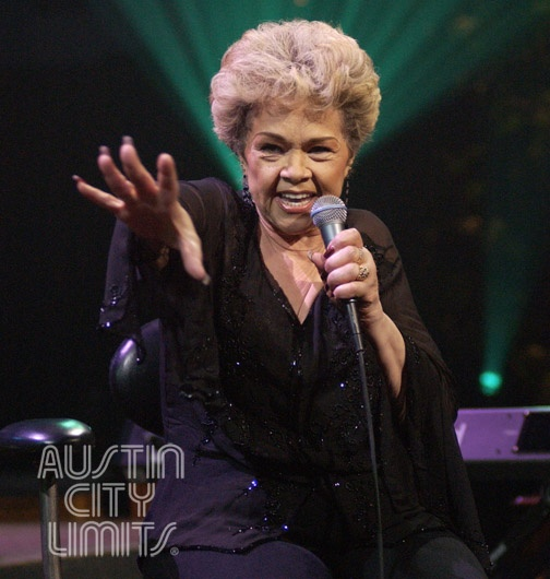 The Legendary Etta James Shines On Austin City Limits Stage In 2005 Photo By
