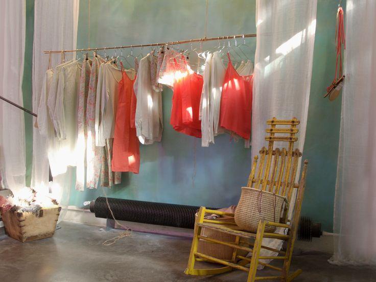 Installation Summer loft - Merci - Paris http://bubblej.tumblr.com/