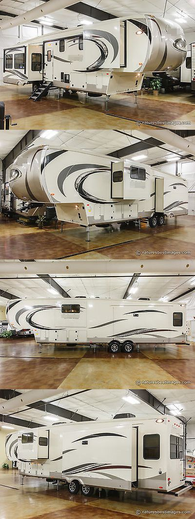 rvs: New 2017 Model 383Fbc Front Bathroom Rear Living Room Luxury 5Th Fifth Wheel -> BUY IT NOW ONLY: $53599 on eBay!