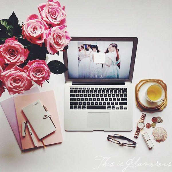 Mac. Flowers.