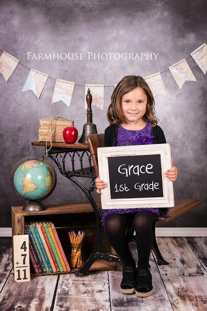 Farmhouse Photography - Back to School session                                                                                                                                                     More