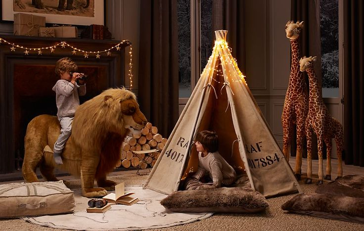 tent: Idea, Restoration Hardware, Play Tents, Kids Plays Rooms, Boys Rooms, Plays Tent, Playrooms, Baby, Kids Rooms