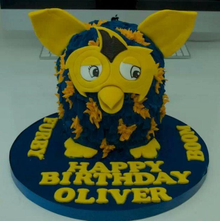 Furby BOOM!cake