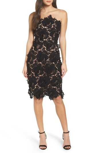 Free shipping and returns on Adelyn Rae Jade Lace Tube Dress at Nordstrom.com. Show off your delicate side in this flirty, figure-flattering tube dress finished with scalloped edges.