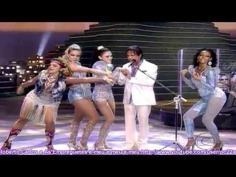 Roberto Carlos É Empreguetes e meu e meu e meu especial reflexoes 25 12 2012 HD pt 06 - YouTube