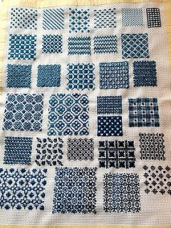 Blackwork samples   by juliezryan