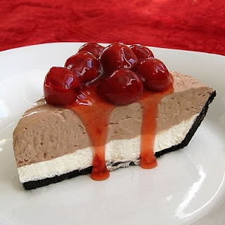 cherry chocolate brownie cheesecake | Favorite Recipes | Pinterest