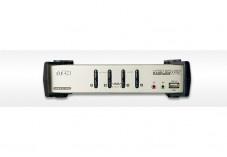 Aten  KVM CS1734B Master View VGA/USB avec câbles - 4 U.C.