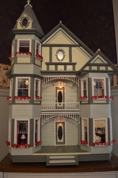 Painted Ladies Doll Houses And Tags On Pinterest