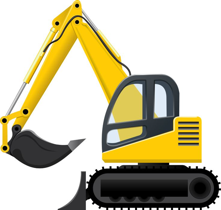 excavator pelleteuse by cyberscooty excavator clip art caterpillars images clip art caterpillar butterfly