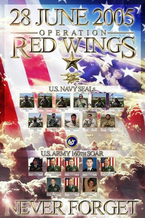 Operation Red Wings Memorial 2005  My son will be learning about this in his history class one day..