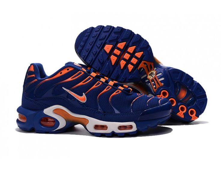 Nike Air Max Plus TXT/TN/Tuned 1 Men's Trainers Sneakers Shoes Lyon Blue/Total Orange/White 647315-482 Stockists UK
