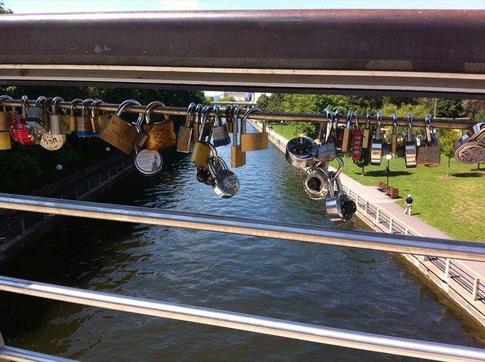 Love Padlocks - Corkstown Footbridge - Ottawa, Ontario  (Have not yet seen these... must go look)