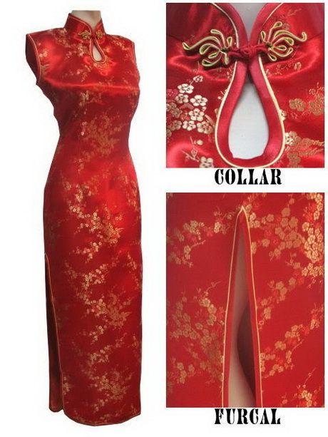 Vestidos chinos elegantes