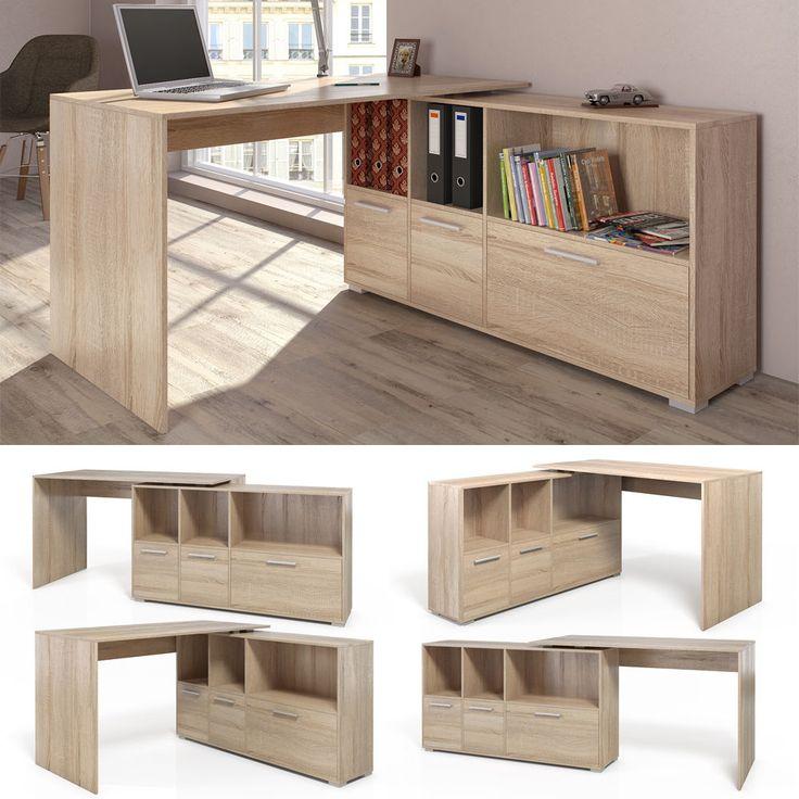 M s de 25 ideas incre bles sobre escritorio esquinero en for Medidas mesa escritorio