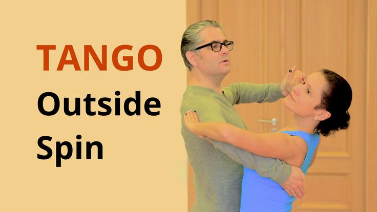 How to Dance Tango - Outside Spin