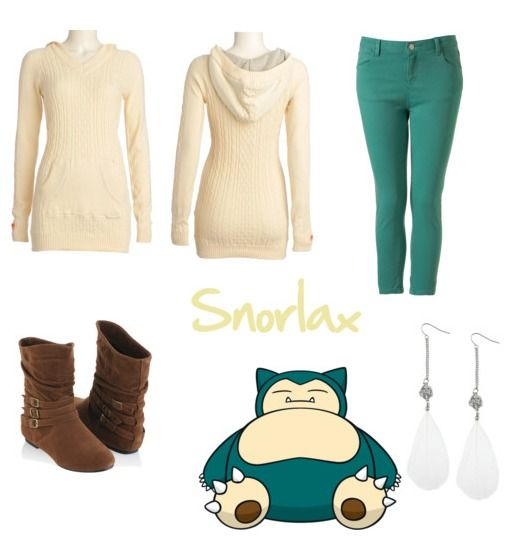 Snorlax (Pokemon) Inspired Outfit