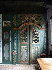 Painted door (Beth M527) Tags: denmark museums 2014 kongenslyngby frilandsmuseet theopenairmuseum