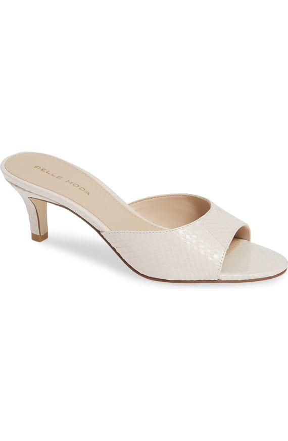 Pelle Moda Bex Kitten Heel Slide Sandal Women Nordstrom Womens Sandals Slide Sandals Kitten Heels