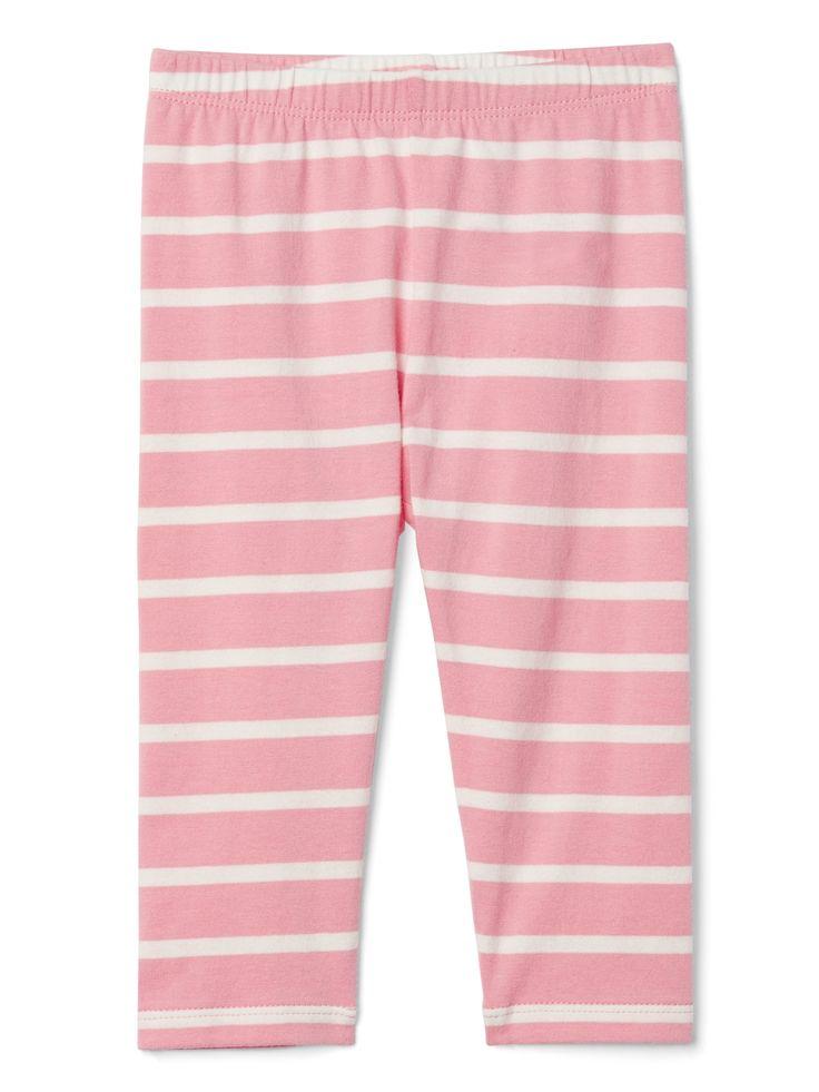 print leggings in stretchy jersey   gap