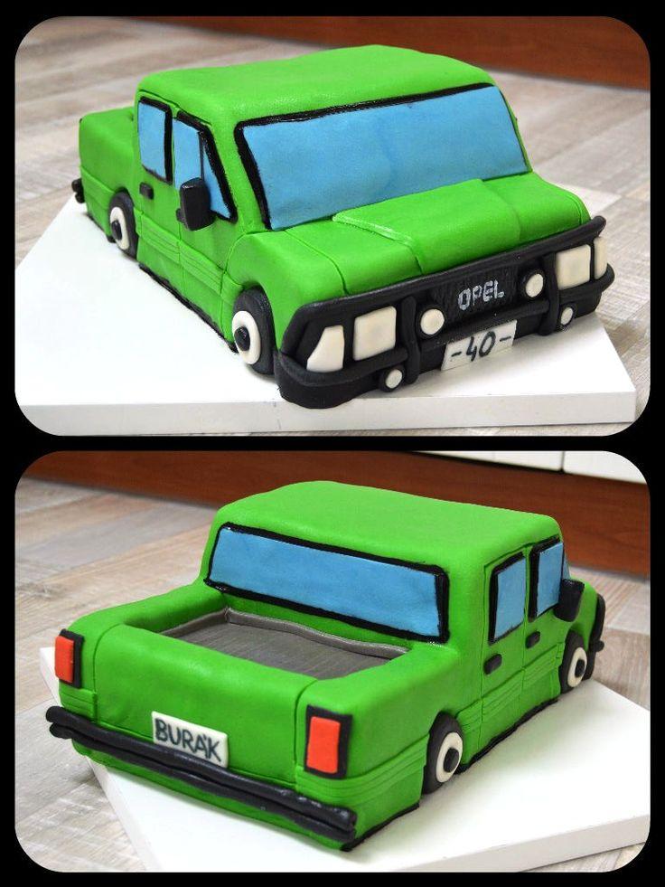 cake car truck