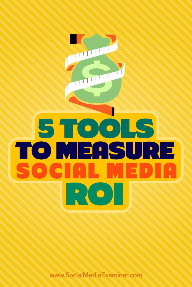 Do you struggle to determine an accurate ROI in social media marketing? It's important to know whether or not the money you've invested in your social media marketing has provided a return that's worth what you've put in. In this article, you'll discover 5 tools to help you accurately and completely measure your social media ROI. Via @smexaminer.
