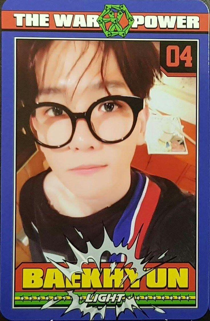 #Photocards #ThePowerOfMusic #EXO #BAEKHYUN