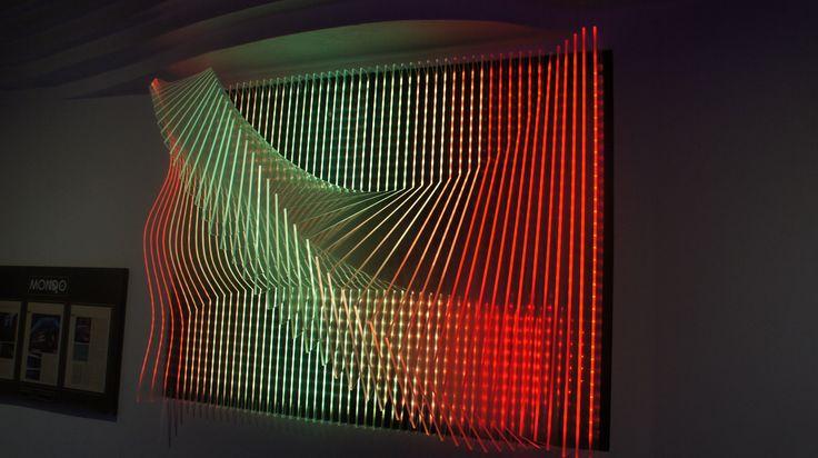 LED Acrylic Wall