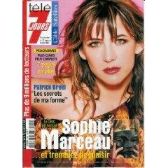 Sophie Marceau ... et trembler de plaisir (Le choc Belphégor), dans Télé 7 jours (n°2131) du 31/03/2001 [Couverture isolée + article de 3 pages mis en vente par Presse-Mémoire]