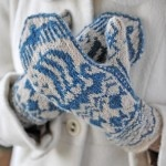 Freya mittens by Judy Furlong in The Knitter issue 27