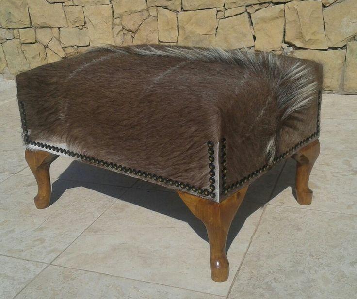 Njala ottoman by Ray's Leather - raysleatherwork@gmail.com