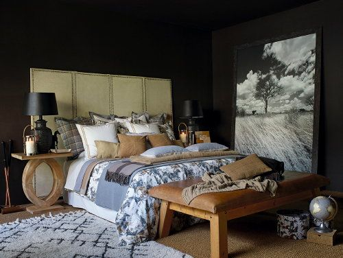 25 beste idee n over plaid beddengoed op pinterest plaid slaapkamer blokhut kerst en rustiek. Black Bedroom Furniture Sets. Home Design Ideas