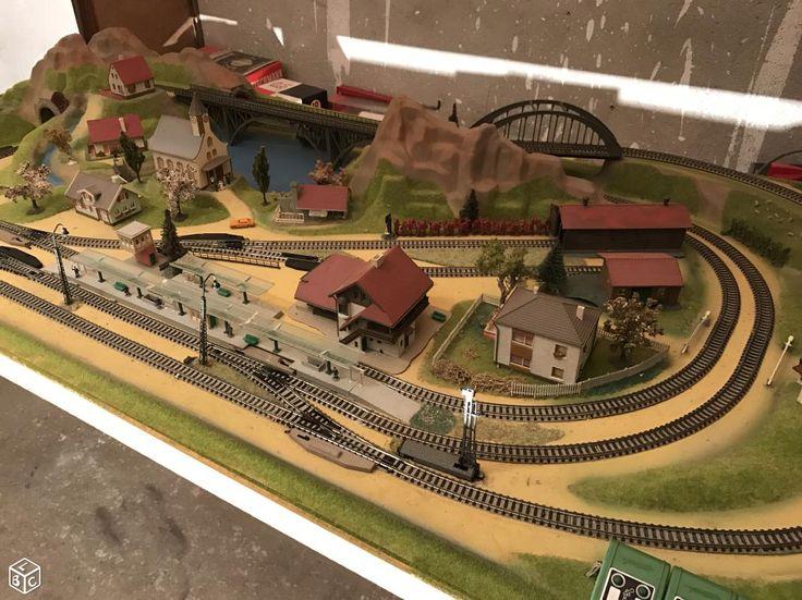 1217 best trains miniatures images on pinterest model. Black Bedroom Furniture Sets. Home Design Ideas