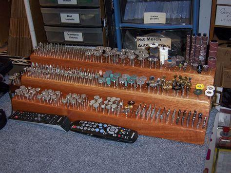Dennis Rc---organize dremel tips and bits