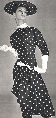 Polka Dot Couture! by wearitsatvintage, via Flickr
