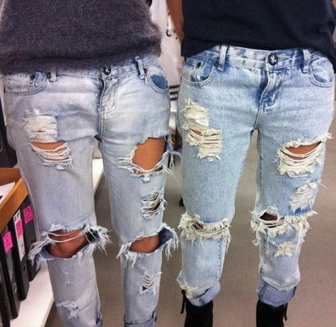 25  best ideas about Diy ripped jeans on Pinterest | Diy ...