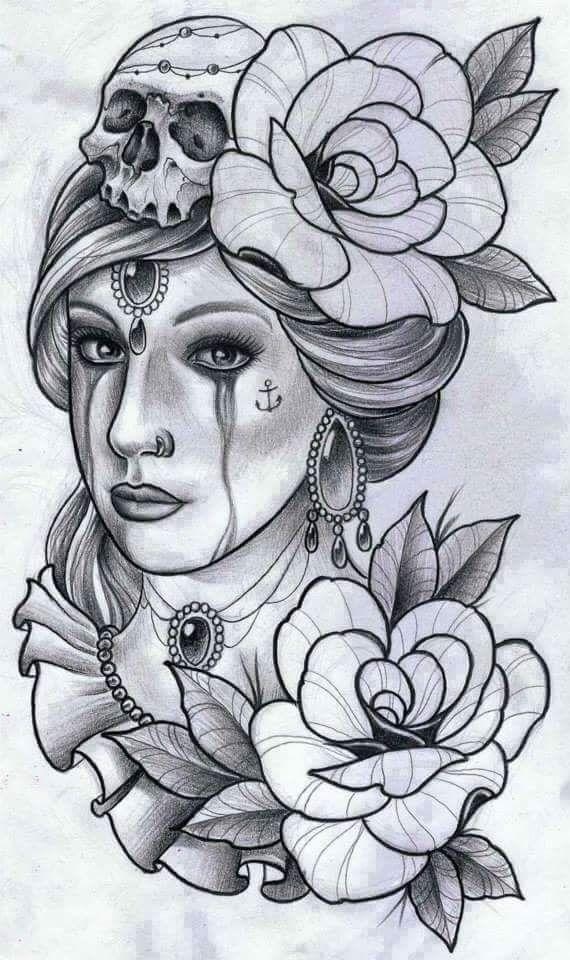 17 melhores ideias sobre tatuagens de garotas ciganas no for Assassin tattoo houston