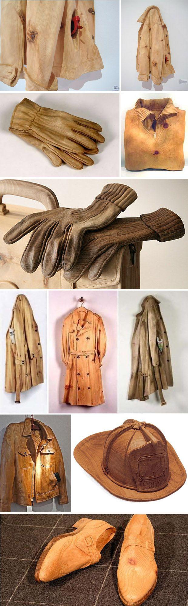 Livio De Marchi - Wood carvings