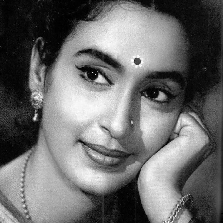 Nutan One of the Finest Female Actors in the History of Hindi Cinema #cupfuloftrinkets #nutan #actress #bollywood #oldbollywood #classicbollywood #bollywoodglam #bollywoodfashion #classic #icon #blackandwhite #picture #portrait #vintagehair #vintagemakeup #vintagefashion #hindicinema #vintagejewelry #silverscreen #goldenage #film #cinema #beads #filmnoir #movies #bollywoodstyle #1950s by cupfuloftrinkets