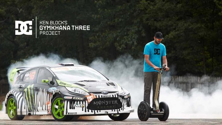DC SHOES: Ken Block's Gymkhana THREE, Part 2; Ultimate Playground; l'Aut... One of the best Gymkhanas by Ken