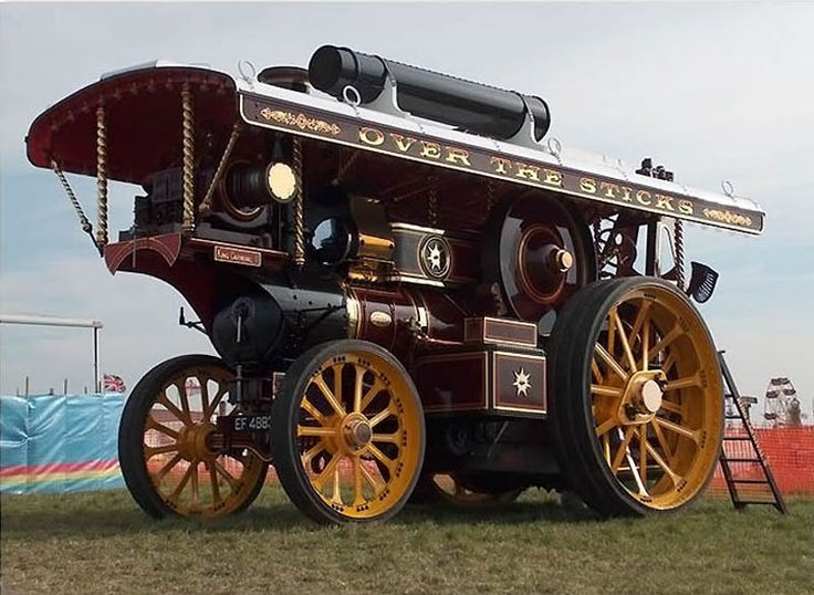 Steam powered trucks and buses. | Visit source for more | Steampunk in real life. :D Awesomeness!